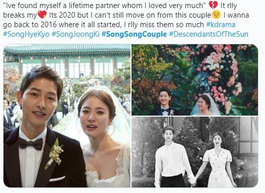Tròn 1 năm kể từ ngày tòa án công bố Song Hye Kyo - Song Joong Ki chính thức hoàn tất thủ tục ly hôn fan hâm mộ lại đồng loạt kêu gọi điều này  - Ảnh 2.
