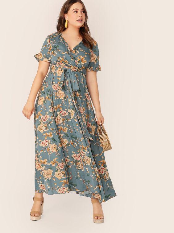 Váy maxi đi biển dành cho nàng béo bụng hay béo toàn thân: Chú ý 2 chi tiết này để quyết định sự thon gọn của vóc dáng - Ảnh 2.