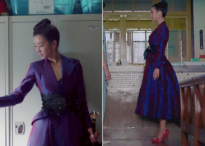 """Nghiện cao gót đến mức mặc váy ngủ cũng phải đi, Seo Ye Ji có cả kho giày nhưng đây mới là 8 đôi đẹp xuất chúng của cô trong """"Điên Thì Có Sao"""" - Ảnh 5."""