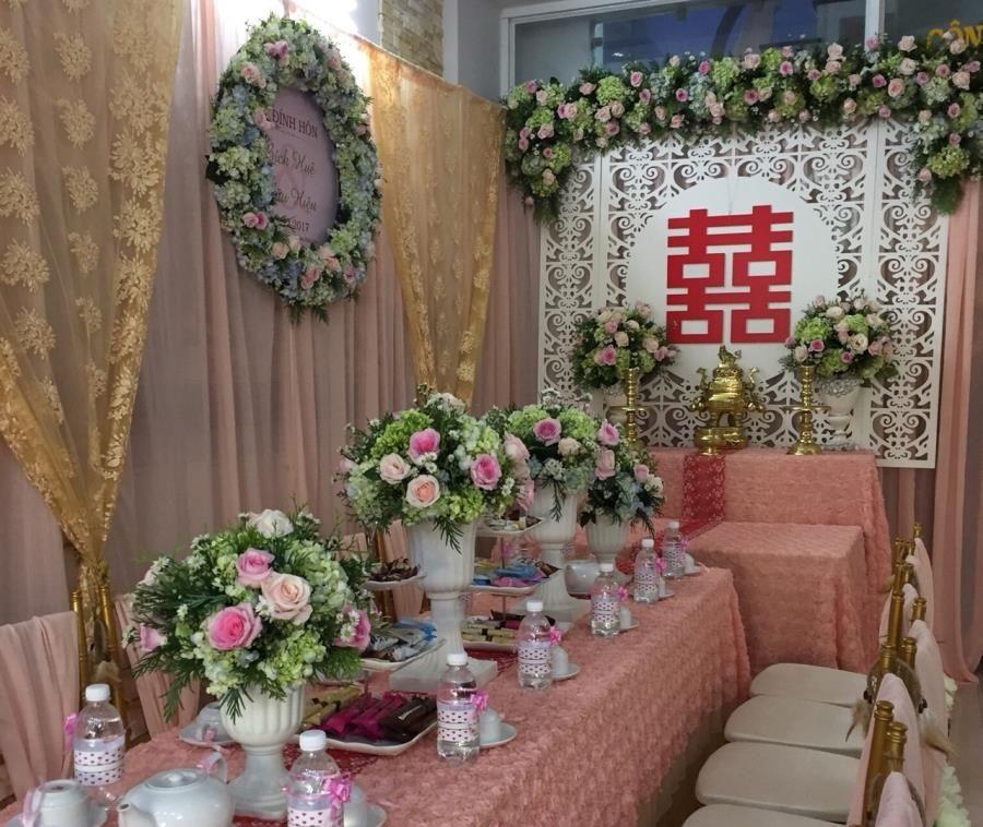 """Đám cưới """"kinh tế"""" dành cho cặp đôi với những combo trang trí nhà cửa trọn gói giá rẻ chỉ dưới 5 triệu đồng - Ảnh 1."""