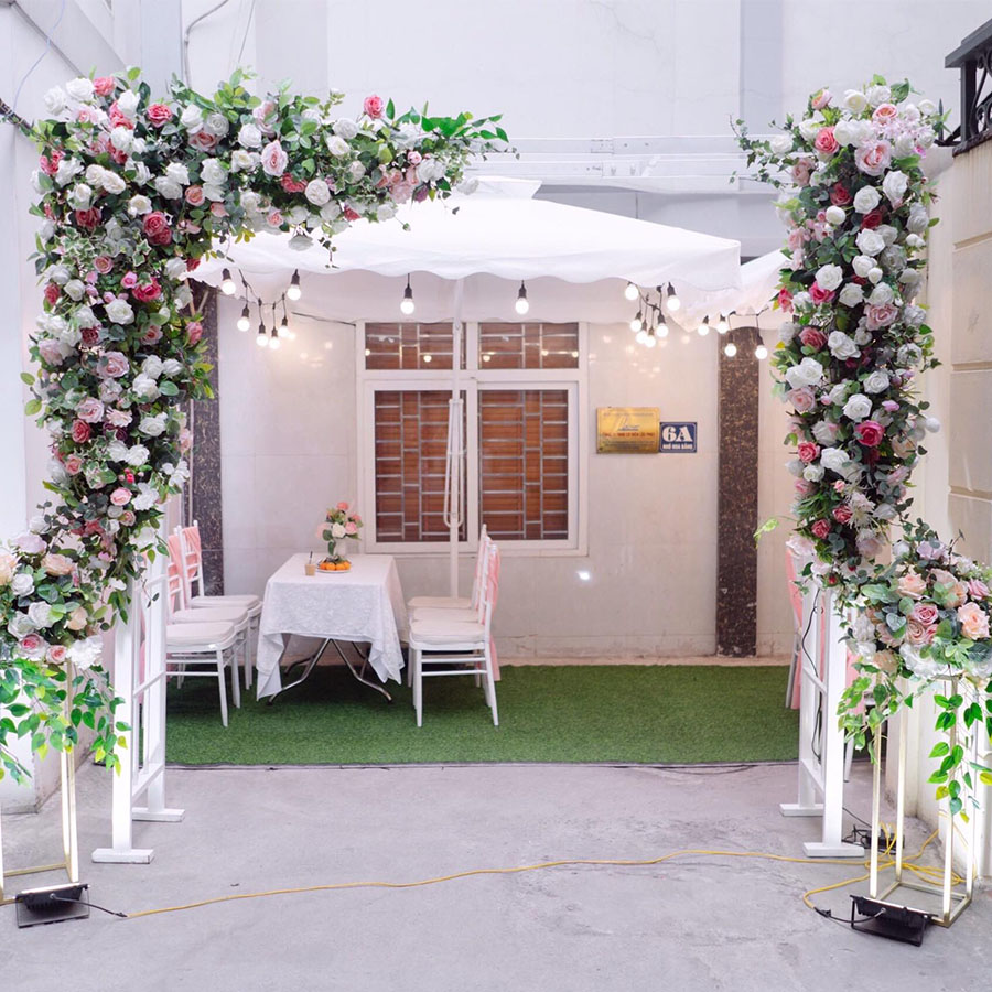 """Đám cưới """"kinh tế"""" dành cho các cặp đôi với những combo trang trí nhà cửa trọn gói giá rẻ chỉ dưới 5 triệu đồng - Ảnh 4."""