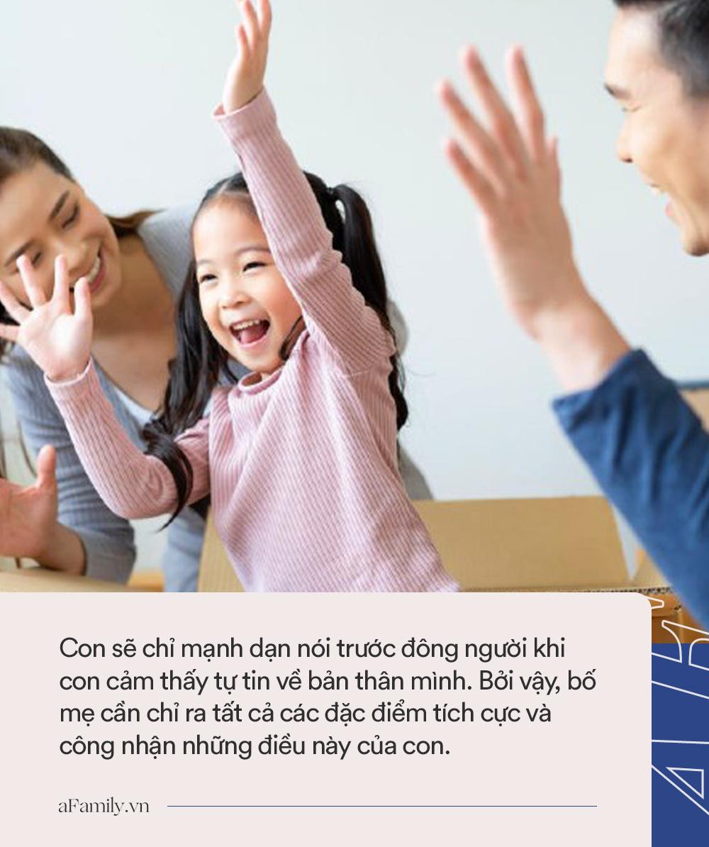 Muốn con từ nhút nhát trở nên tự tin, bạo dạn không hề khó nếu bố mẹ tranh thủ làm những điều này với con mỗi ngày - Ảnh 4.