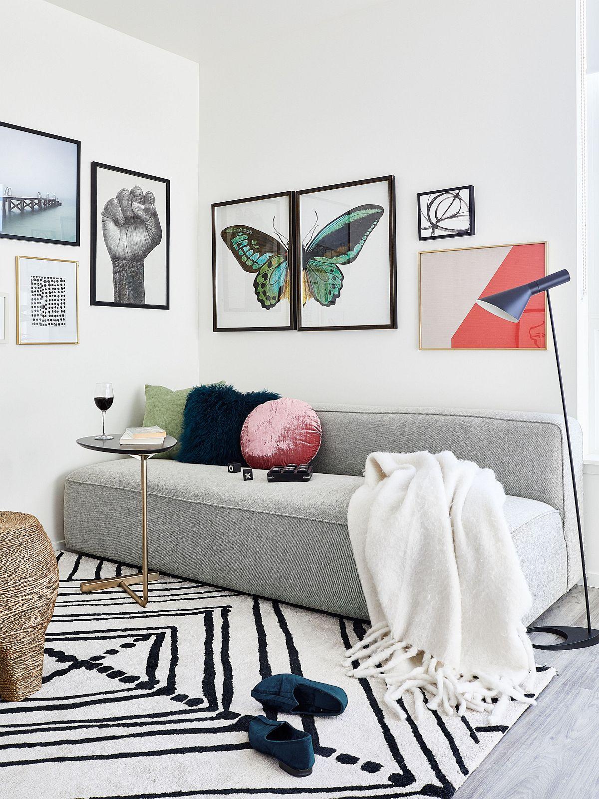 Phòng khách nhỏ xíu vẫn đẹp hoàn hảo nhờ kinh nghiệm lựa chọn sofa phù hợp - Ảnh 10.