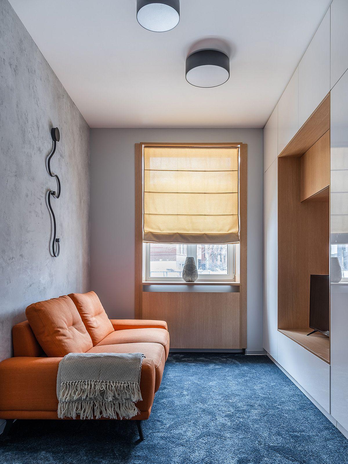 Phòng khách nhỏ xíu vẫn đẹp hoàn hảo nhờ kinh nghiệm lựa chọn sofa phù hợp - Ảnh 11.