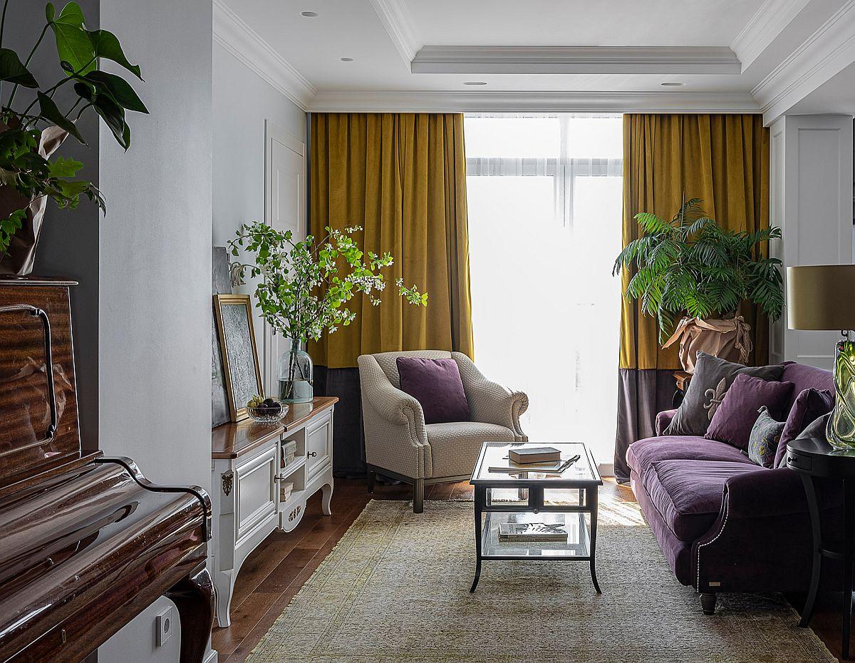 Phòng khách nhỏ xíu vẫn đẹp hoàn hảo nhờ kinh nghiệm lựa chọn sofa phù hợp - Ảnh 5.