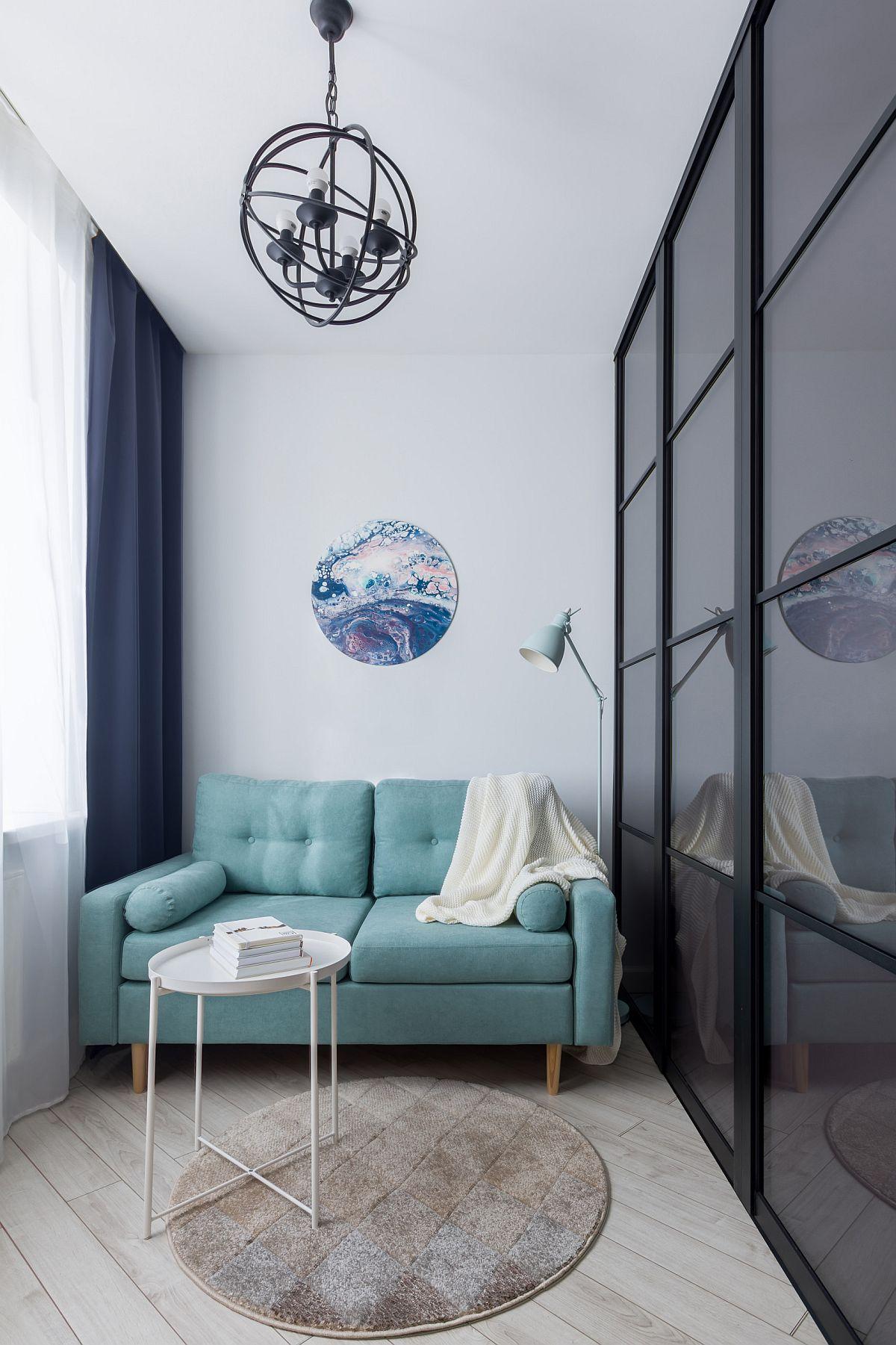 Phòng khách nhỏ xíu vẫn đẹp hoàn hảo nhờ kinh nghiệm lựa chọn sofa phù hợp - Ảnh 3.