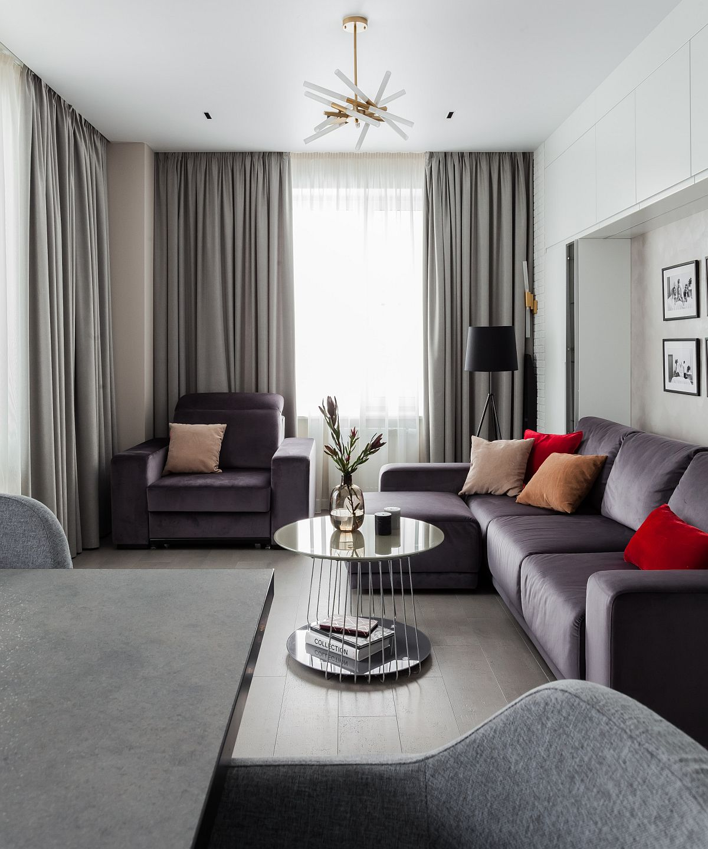 Phòng khách nhỏ xíu vẫn đẹp hoàn hảo nhờ kinh nghiệm lựa chọn sofa phù hợp - Ảnh 8.