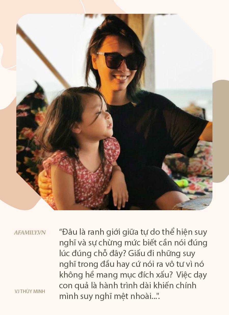 """MC Thùy Minh kể chuyện đi thang máy cùng với con gái và sự hồn nhiên của con khiến cô xấu hổ """"không biết giấu mặt vào đâu"""" - Ảnh 3."""