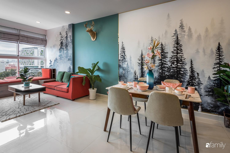 """Lạc bước vào """"rừng nhiệt đới"""" trong căn hộ 70m² ở quận Phú Nhuận, TP. HCM - Ảnh 1."""