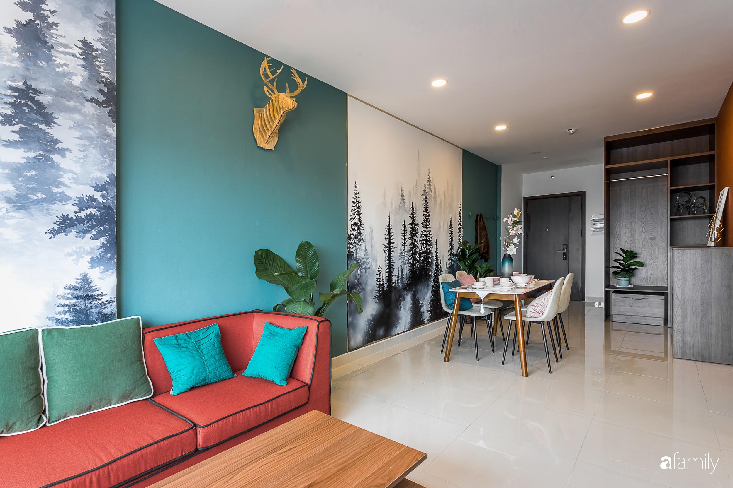 """Lạc bước vào """"rừng nhiệt đới"""" trong căn hộ 70m² ở quận Phú Nhuận, TP. HCM - Ảnh 5."""