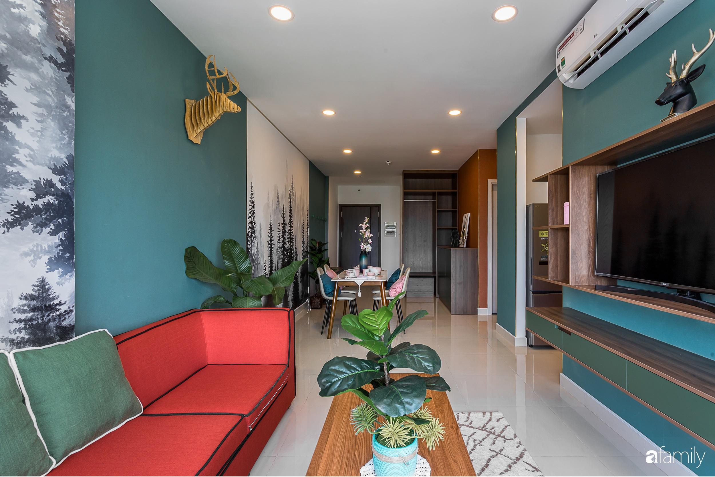 """Lạc bước vào """"rừng nhiệt đới"""" trong căn hộ 70m² ở quận Phú Nhuận, TP. HCM - Ảnh 11."""