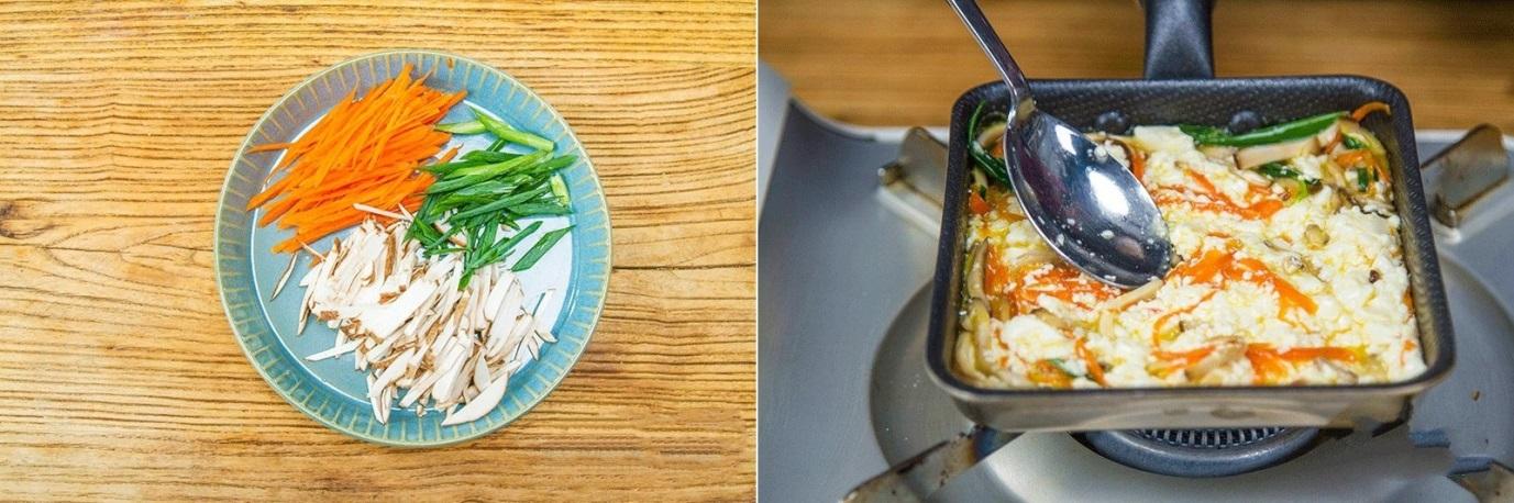 15 phút làm chả trứng đậu phụ mềm ngon đủ chất cho bữa tối - Ảnh 1.