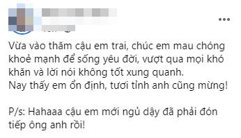 Hoài Lâm bất ngờ nhập viện sau dòng trạng thái gây xôn xao mạng xã hội - Ảnh 1.