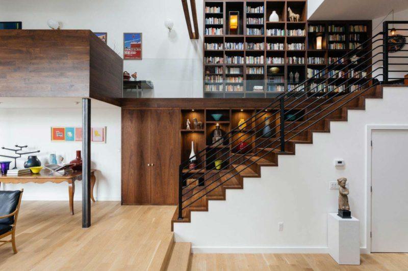 Những ý tưởng thông minh và sáng tạo thiết kế cầu thang cho gác xép nhỏ - Ảnh 5.