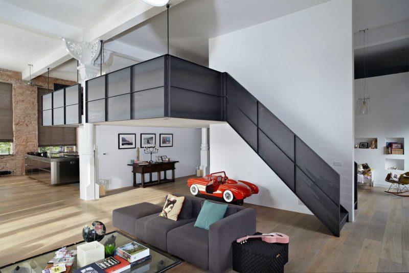 Những ý tưởng thông minh và sáng tạo thiết kế cầu thang cho gác xép nhỏ - Ảnh 8.