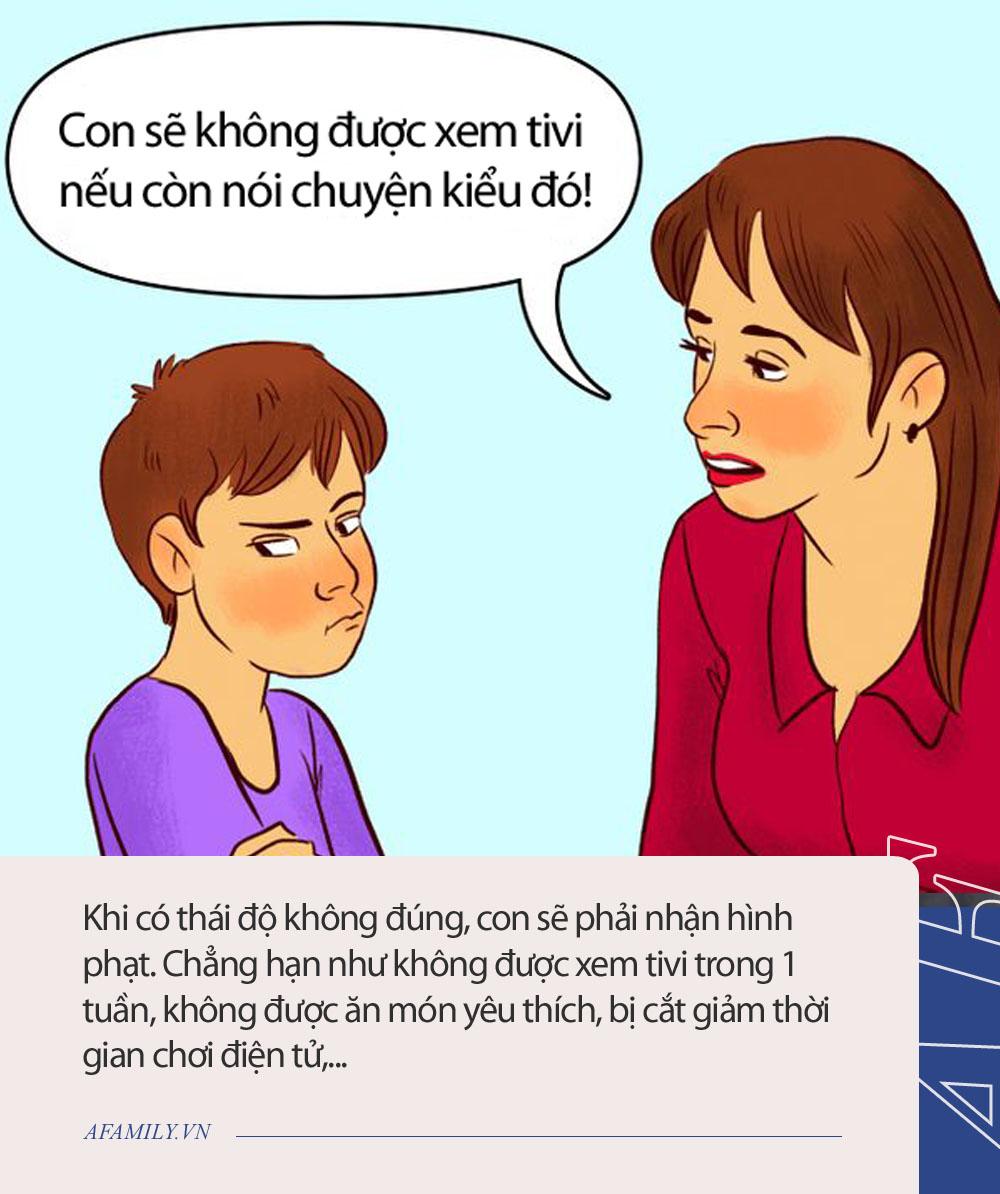 7 bước cực đơn giản để xử lý khi con cãi lại, bố mẹ đọc xong vỗ tay: Giá mà mình biết cách này sớm hơn! - Ảnh 4.