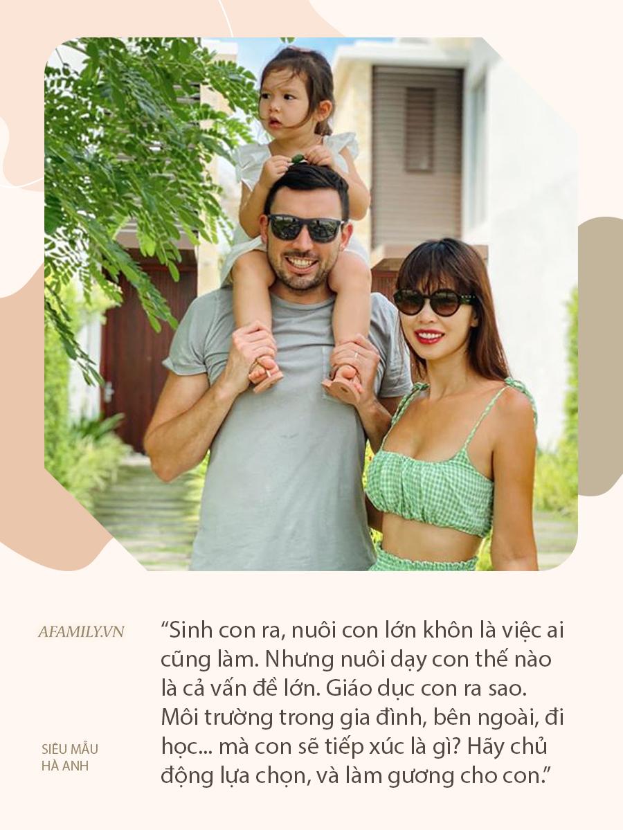 """Siêu mẫu Hà Anh: Cha mẹ sinh con, cha mẹ sinh tính, đừng ỷ lại """"ông trời"""" - Ảnh 3."""