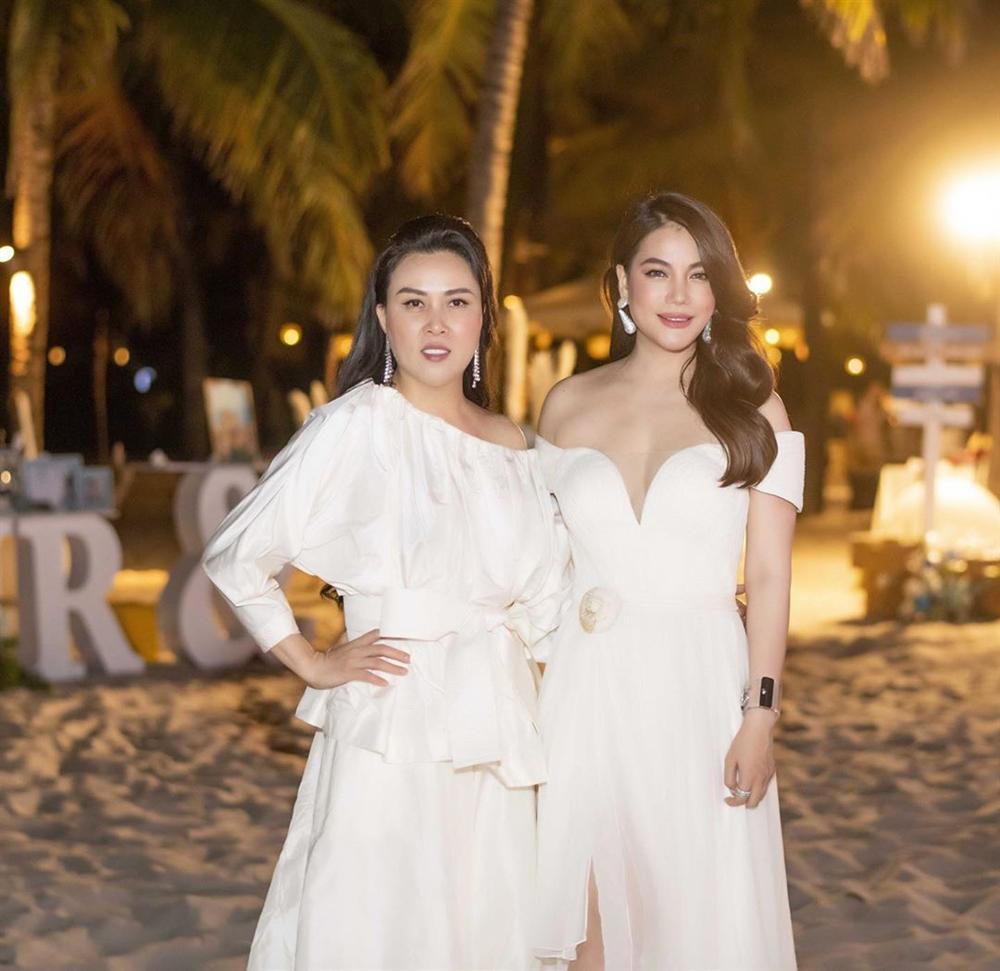 Phượng Chanel chung khung hình với mỹ nhân Vbiz: Váy áo nổi bật, thậm chí có 1 lần lấn lướt nhờ makeup tối giản - Ảnh 6.