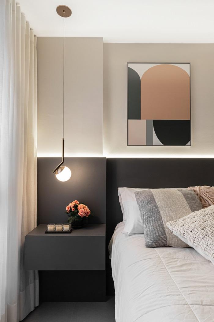Căn hộ 44m² với tông màu gỗ xám đẹp vượt thời gian ai ngắm cũng mê - Ảnh 9.