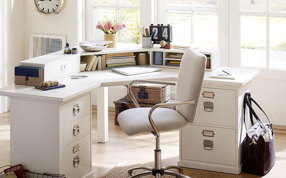Những lý do vô cùng thuyết phục để bạn lựa chọn gam màu trắng đẹp hoàn hảo cho góc làm việc tại nhà