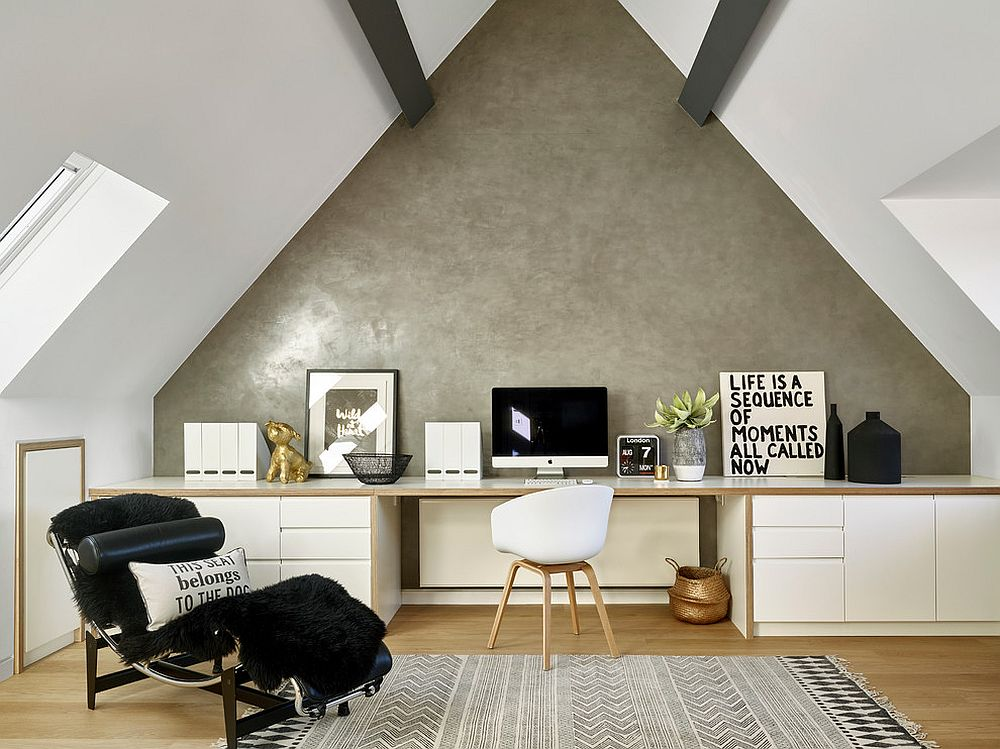 Những lý do vô cùng thuyết phục để bạn lựa chọn gam màu trắng đẹp hoàn hảo cho góc làm việc tại nhà - Ảnh 9.