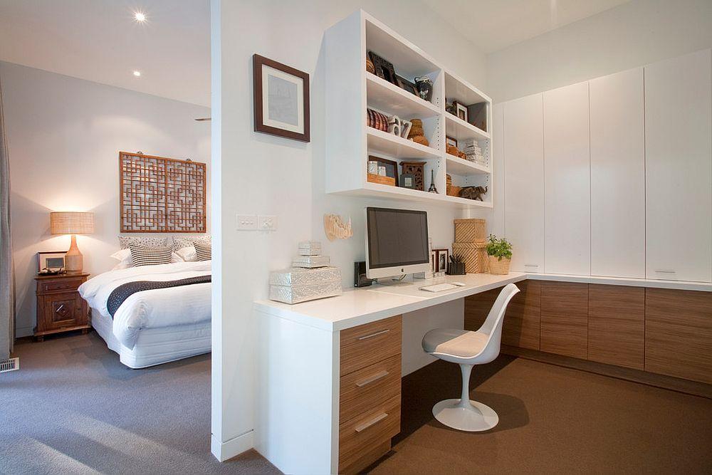 Những lý do vô cùng thuyết phục để bạn lựa chọn gam màu trắng đẹp hoàn hảo cho góc làm việc tại nhà - Ảnh 11.
