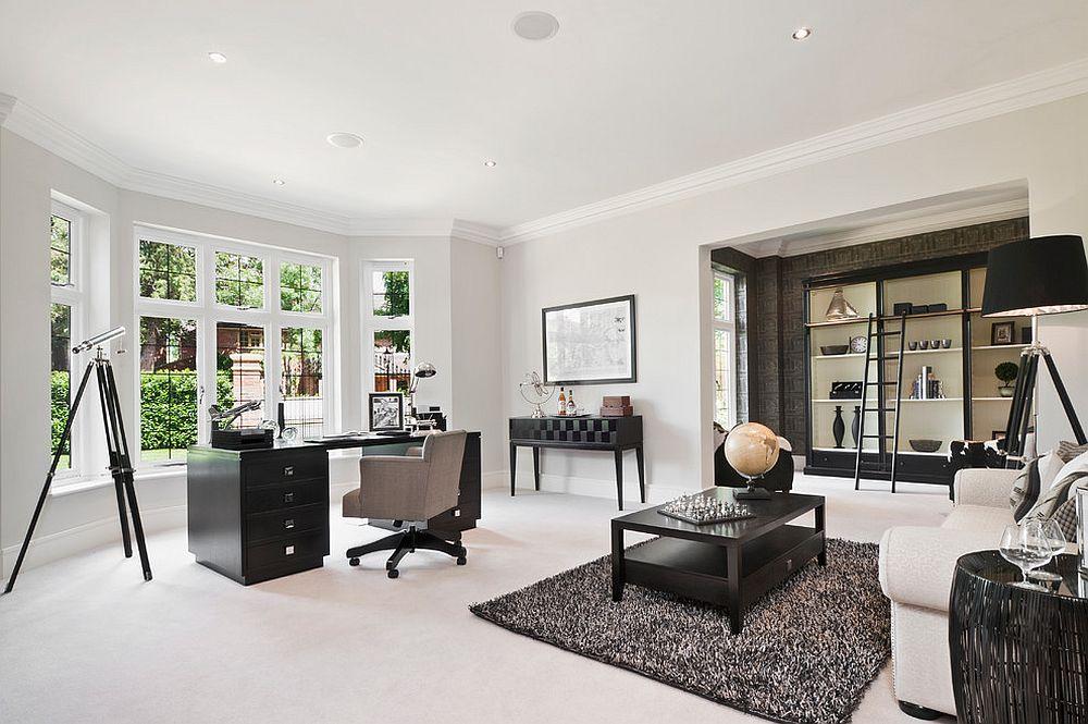 Những lý do vô cùng thuyết phục để bạn lựa chọn gam màu trắng đẹp hoàn hảo cho góc làm việc tại nhà - Ảnh 12.