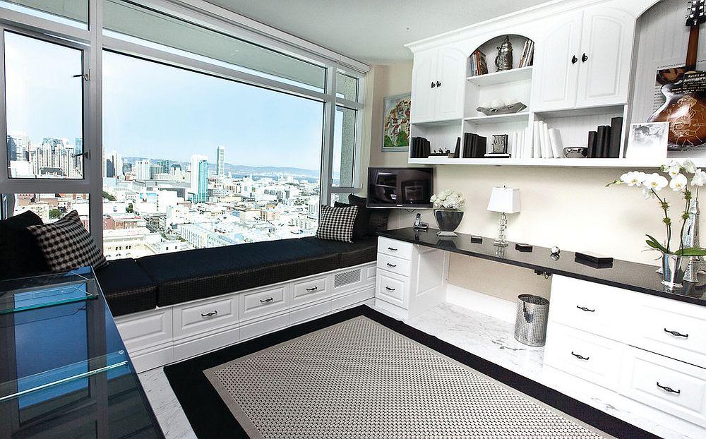 Những lý do vô cùng thuyết phục để bạn lựa chọn gam màu trắng đẹp hoàn hảo cho góc làm việc tại nhà - Ảnh 13.