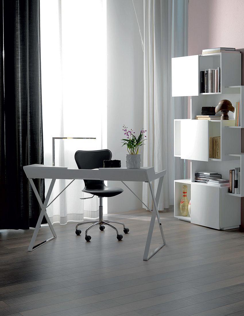 Những lý do vô cùng thuyết phục để bạn lựa chọn gam màu trắng đẹp hoàn hảo cho góc làm việc tại nhà - Ảnh 15.