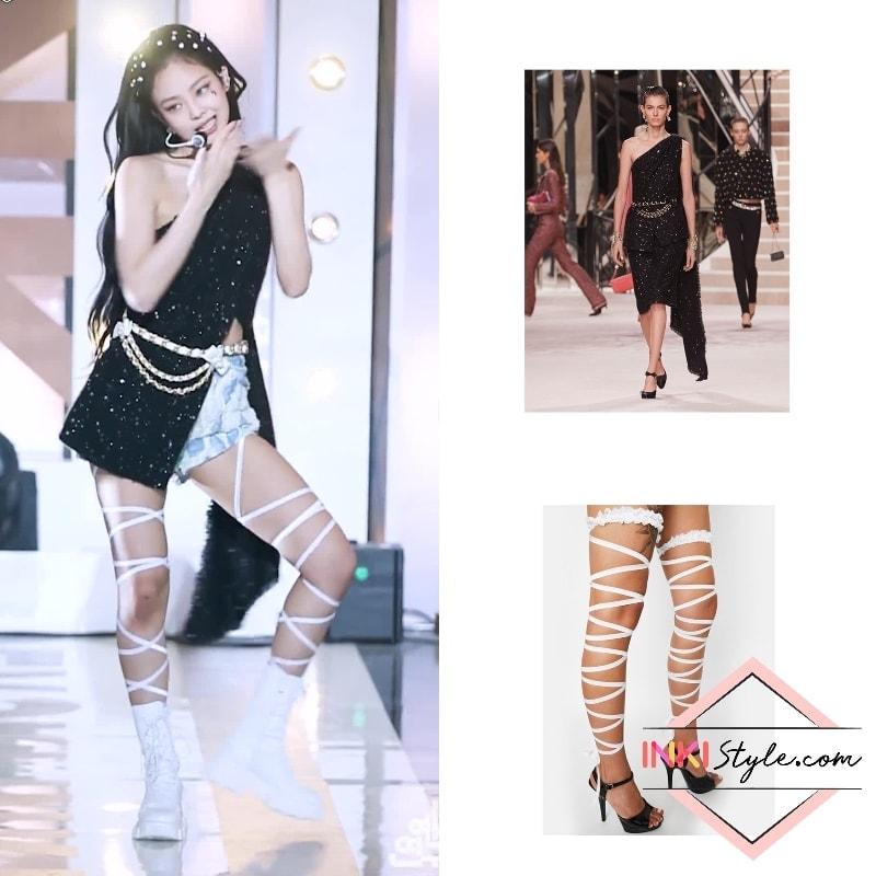 """Từ Ngọc Trinh đến Jennie (Black Pink) đều lăng xê cho giày buộc dây, các chị em sành điệu chờ gì mà không """"đu"""" theo ngay - Ảnh 2."""