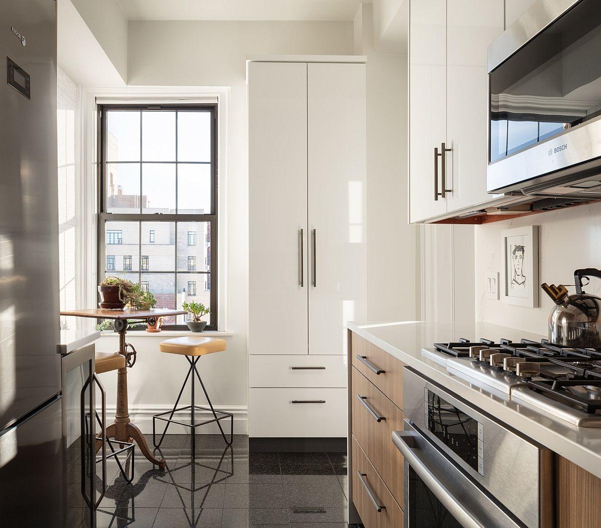 Những căn bếp nhỏ được thiết kế sáng tạo vừa đẹp vừa tiện dụng nhờ các giải pháp không ai ngờ tới - Ảnh 2.
