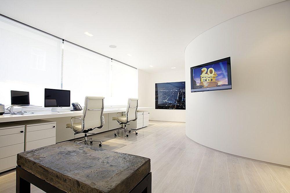 Những lý do vô cùng thuyết phục để bạn lựa chọn gam màu trắng đẹp hoàn hảo cho góc làm việc tại nhà - Ảnh 2.