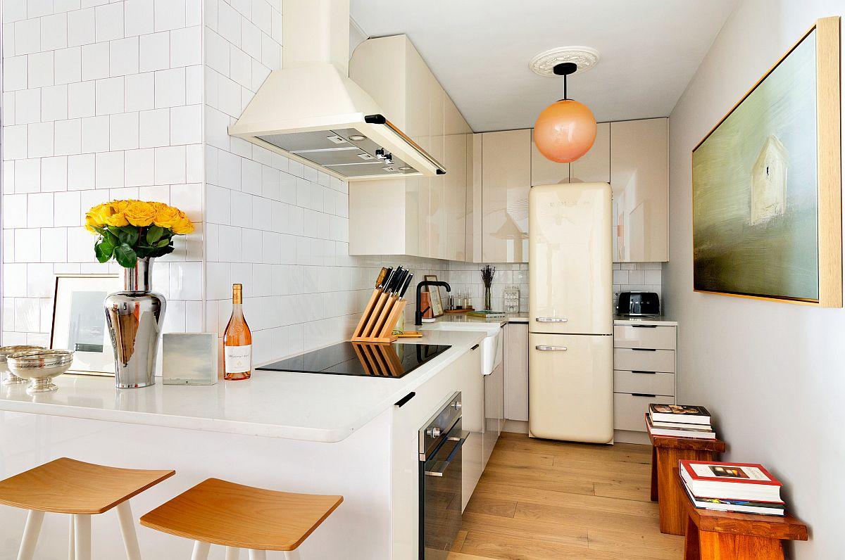 Những căn bếp nhỏ được thiết kế sáng tạo vừa đẹp vừa tiện dụng nhờ các giải pháp không ai ngờ tới - Ảnh 5.