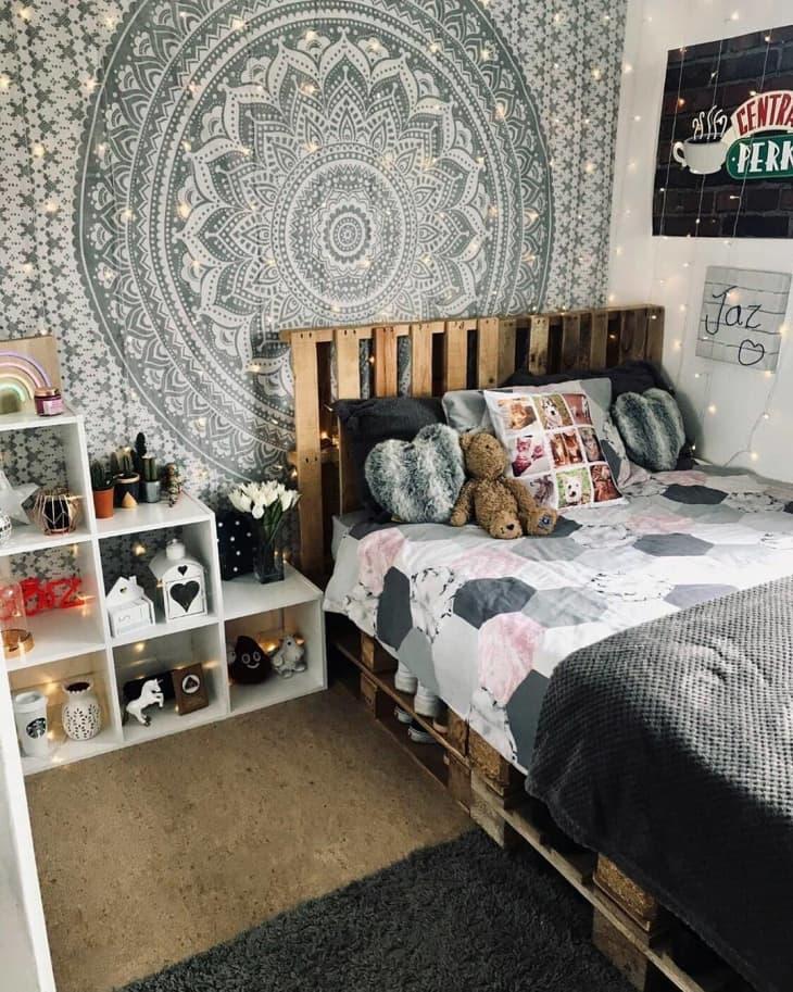 Gợi ý 10 kiểu giường pallet vừa rẻ vừa xinh phù hợp với mọi loại phòng ngủ - Ảnh 7.