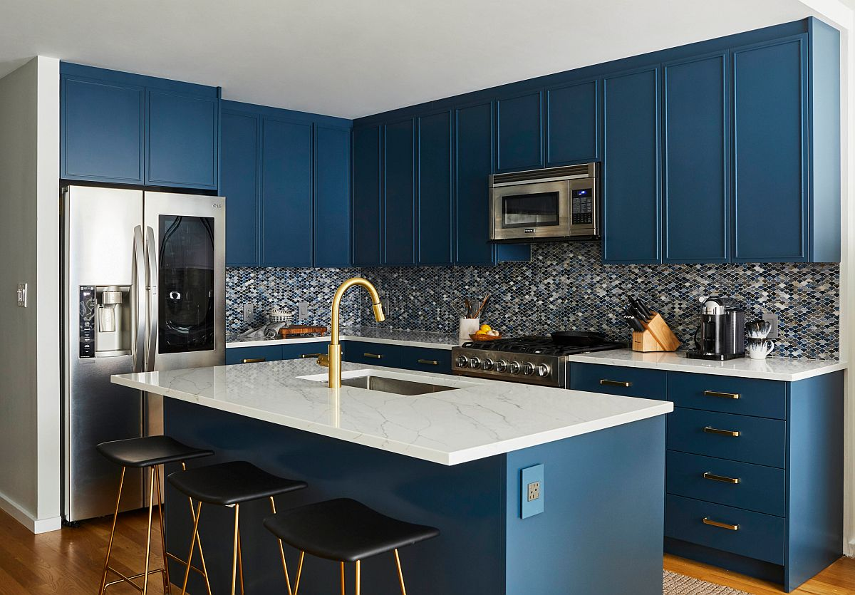 Những căn bếp nhỏ được thiết kế sáng tạo vừa đẹp vừa tiện dụng nhờ các giải pháp không ai ngờ tới - Ảnh 7.