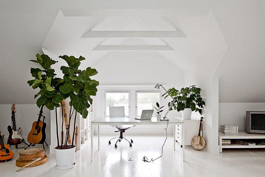 Những lý do vô cùng thuyết phục để bạn lựa chọn gam màu trắng đẹp hoàn hảo cho góc làm việc tại nhà - Ảnh 7.