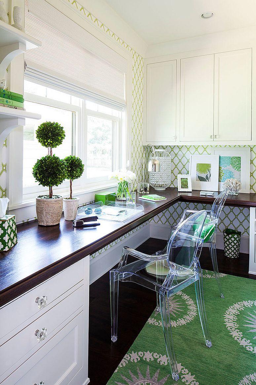 Những lý do vô cùng thuyết phục để bạn lựa chọn gam màu trắng đẹp hoàn hảo cho góc làm việc tại nhà - Ảnh 8.