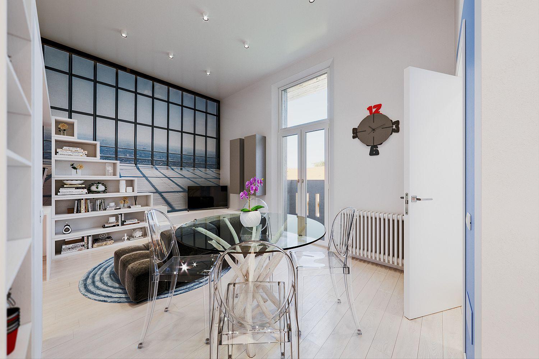Căn hộ 29m² màu trắng siêu tiết kiệm không gian với góc view cực chất ai ngắm cũng muốn sở hữu ngay - Ảnh 3.