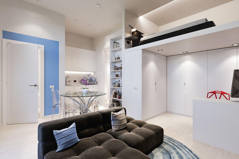 Căn hộ 29m² màu trắng siêu tiết kiệm không gian với góc view cực chất ai ngắm cũng muốn sở hữu ngay - Ảnh 8.