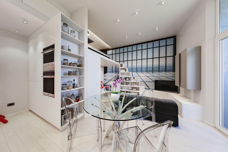 Căn hộ 29m² màu trắng siêu tiết kiệm không gian với góc view cực chất ai ngắm cũng muốn sở hữu ngay - Ảnh 4.
