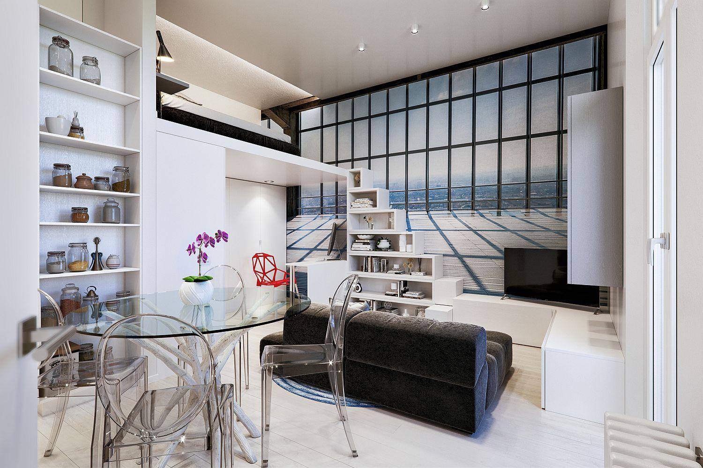 Căn hộ 29m² màu trắng siêu tiết kiệm không gian với góc view cực chất ai ngắm cũng muốn sở hữu ngay - Ảnh 2.