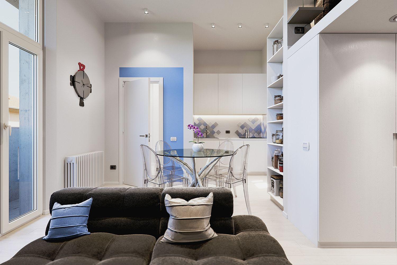 Căn hộ 29m² màu trắng siêu tiết kiệm không gian với góc view cực chất ai ngắm cũng muốn sở hữu ngay - Ảnh 1.