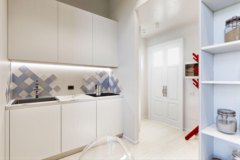 Căn hộ 29m² màu trắng siêu tiết kiệm không gian với góc view cực chất ai ngắm cũng muốn sở hữu ngay - Ảnh 7.