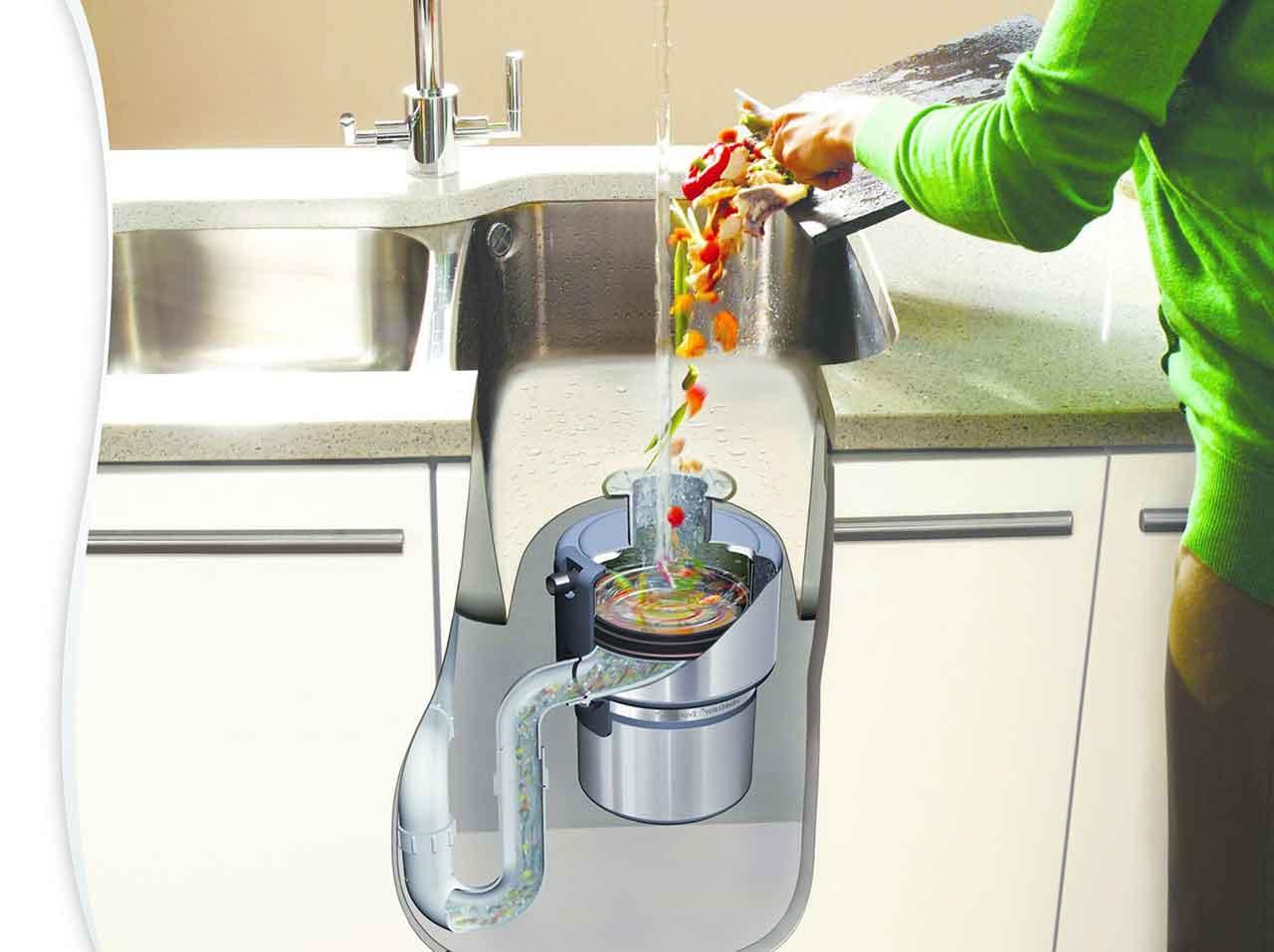 Có máy nghiền rác bồn rửa trong nhà rất tiện, nhưng bà nội trợ cần chú ý những điều này để tránh rắc rối - Ảnh 3.