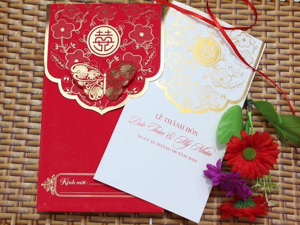 Chỉ dưới 3.000 đồng, 8 mẫu thiệp cưới hoàn hảo các cặp đôi không nên bỏ lỡ nếu đang loay hoay tìm cho ngày trọng đại - Ảnh 3.