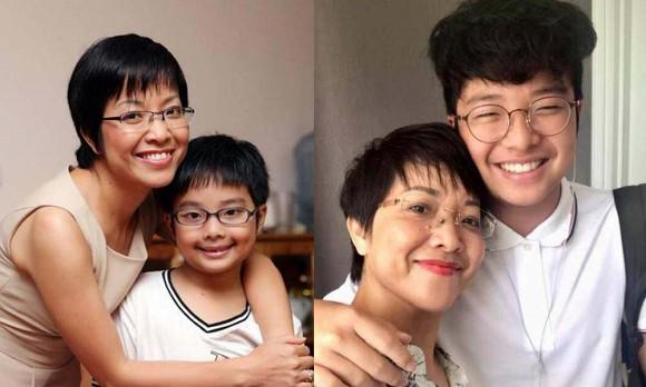 Con trai Công Lý và MC Thảo Vân dậy thì thành công khi bước sang tuổi 15, gây chú ý nhờ chiều cao nổi bật cùng nụ cười tỏa nắng - Ảnh 6.