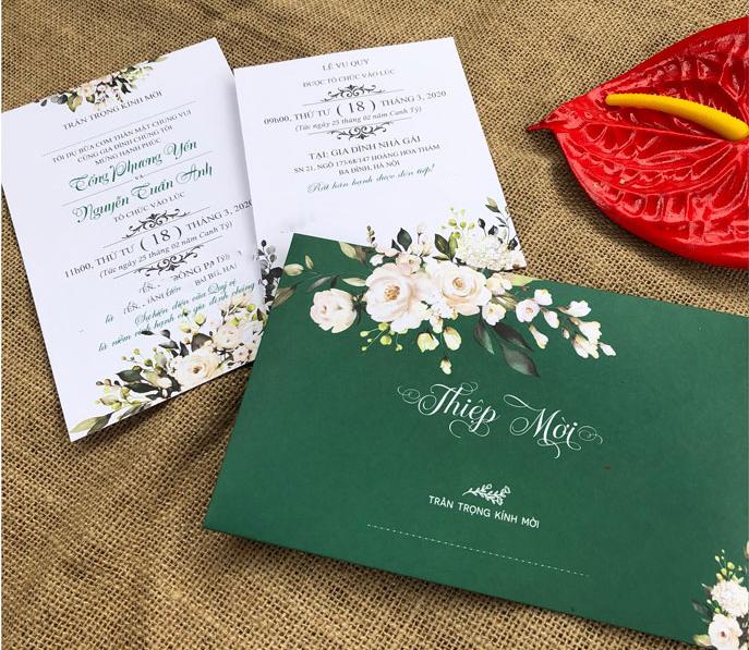 Chỉ dưới 3.000 đồng, 8 mẫu thiệp cưới hoàn hảo các cặp đôi không nên bỏ lỡ nếu đang loay hoay tìm cho ngày trọng đại - Ảnh 7.