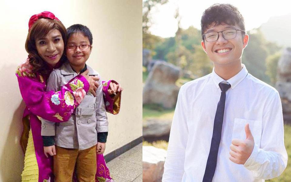 Con trai Công Lý và MC Thảo Vân giờ đã lớn thế này, cậu bé mập ú ngày nào giờ đã là chàng thiếu niên tuấn tú