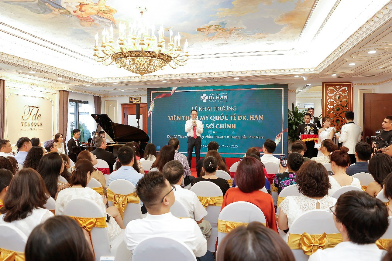 Bùng nổ khuyến mãi trong tuần lễ ra mắt Dr.Han - Ảnh 1.
