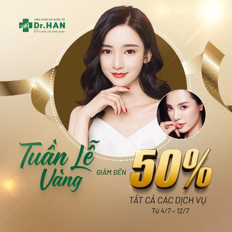 Bùng nổ khuyến mãi trong tuần lễ ra mắt Dr.Han - Ảnh 2.